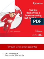 Training IWF (MSC Server) Back Office v.1.0.d