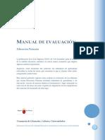 Manual Evaluacion Educacion Primaria