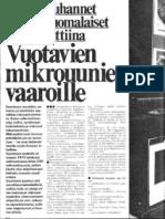 Seura 39/1975 - Tuhannet suomalaiset alttiina vuotavien mikroaaltouunien vaaroille