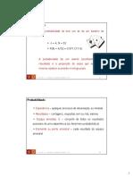 Probabilidade e Torema de Bayes