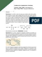 Propiedades Químicas de Los Aminoácidos y Proteínas