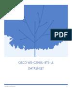 Cisco WS-C2960L-8TS-LL Datasheet