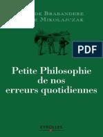 Eyrolles - Petite philosophie de nos erreurs quotidiennes.pdf
