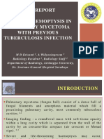 Print-massive Haemoptysis in Pulmonary Mycetoma With Previous Tuberculosis Infection-unair