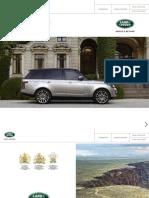 Range Rover Brosura