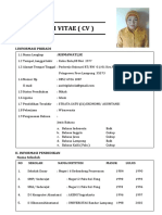 Curriculum Vitae Rismawati Se