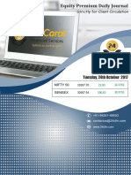 Equity Premium Daily Journal-24th Ocot 2017, Tuesday