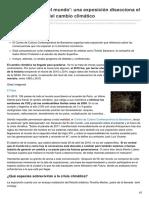 20minutos.es-después Del Fin Del Mundo Una Exposición Disecciona El Presente y Futuro Del Cambio Climático