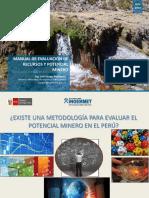 Evaluación de Recursos y Potencial Minero