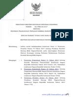 Peraturan Menteri Keuangan Nomor 118