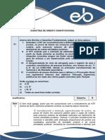 Quest Es de Direito Constitucional Justificativas Pgm Campinas