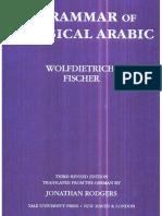 Fischer, A Grammar of Classical Arabic