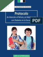PROTOCOLO Oficial Atención a alumnos con Diabetes en Extremadura