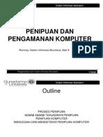 Bab 09 Penipuan Dan Pengamanan Komputer