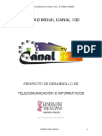Unidad Movil Canal 100