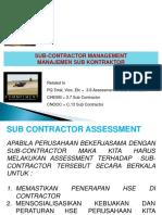 Slide 13 Sub Contractor (Update)