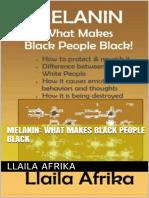 Melanin What Makes Black People Black