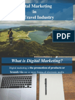 Digital Marketing in the Travel Industry