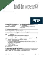 Modélisation compresseur 12V