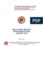 SVRMC-Self study report