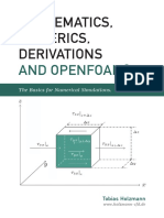 Mathematics Numeric s Derivations and Open Foam