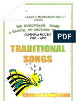 Traditional Songs Book