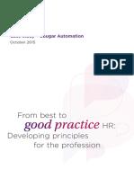 Best Good Practice Hr Developing Principles Profession 2015 Case Study Cougar Automation Tcm18 8763