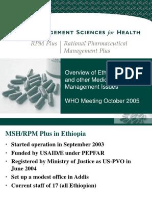 Ethiopia | Pharmacy | Pharmacist