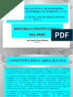 Historia de La Constitucion Del Peru