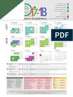 Calendario Académico Uniovi 2017-2018
