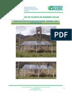 Propuesta Tecnica Bombeo Solar