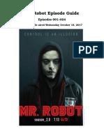 MRROBOTepiso Guide