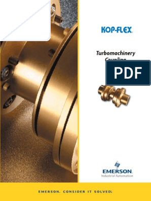 Kop Flex Turbomachinery Coupling Catalog | Lean
