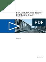 BMC Atrium CMDB Adapter for HP UCMDB Installation Guide