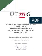 Trabalho Prático - Aço I - UFMG