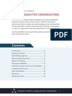 Sensitive Topic Facilitators Guide