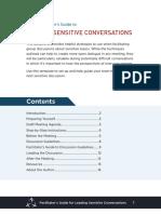 Sensitive Topic Facilitators Guide
