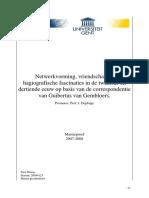 Correspondentie Guibertus van Gembloers