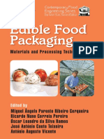 (Contemporary Food Engineering) Cerqueira, Miquel Angelo Et Al.-edible Food Packaging_ Materials and Processing Technologies-CRC Press (2015)