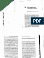 Texto 16 Reforma Educativa y Prácticas Escolares.justa Ezpeleta