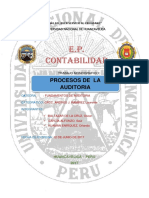 Trabajo Monografico Del Proceso de La Auditoria