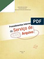 Procedimentos Internos Servico Arquivo Searq