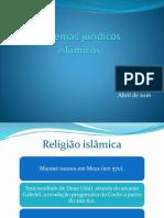 Sistemas Jurídicos Islâmicos