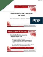 0 - Breve Historico Das Fundacoes No Brasil 2015 v5
