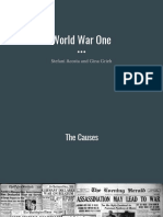 10-25-17 causes of ww1 ppt