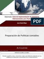 20 Políticas contables