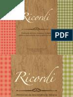 Projeto Ricordi - Livro sobre memórias da descendência italiana