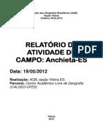 Relatorio Ativ Campo Anchieta.05 12 AGB Vitoria