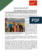 Pressemeldung +++ Projektgruppe KlimaCent zu Gast Auf Juist  +++ Oktober 2017