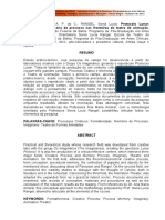 Yarasarrath a P C Lyra - Protocolo Lunar Formatividade Memoria de Processo Nas Fronteiras Do Teatro de Animacao